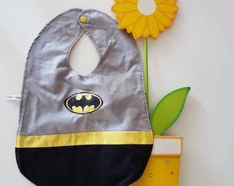 Batman bib superhero