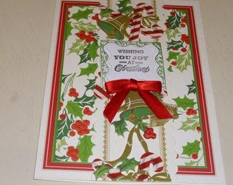 Wishing You Joy At Christmas Card