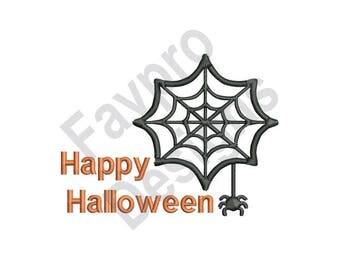 Happy Halloween - Machine Embroidery Design