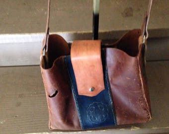 Leather bag (distressed)