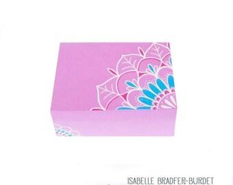 Pink mandala box