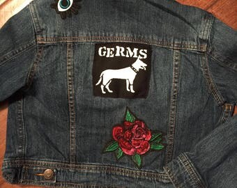 Germs Denim Jacket - Kids