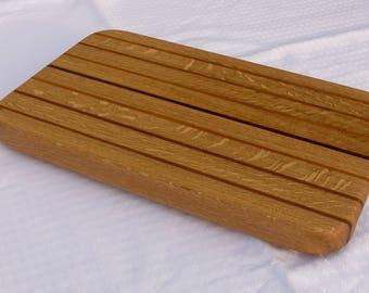 Medium-sized serving board, Längsholz of three types of wood