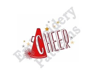 Cheer - Machine Embroidery Design