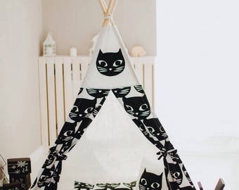 Teepee tent, Kids play tent