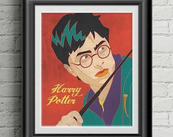 "Harry Potter 8""x10"" Print"