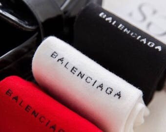 Women's Balenciaga Socks (inspired)