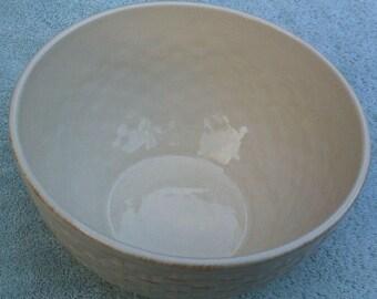 Pfaltzgraff Hamptons basketweave vegetable bowl
