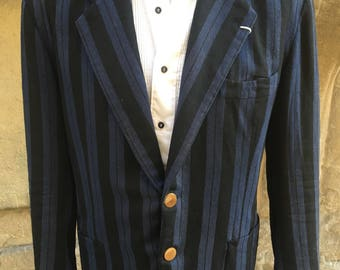 1940s 1950s Mens Rowing Blazer - French Rowing jacket