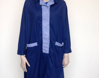 Blue Coverall by Alexandra - Designed by Hardy Amies