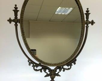 Mirror Antique Mirror Dancer 40 Years ' Brass countertop