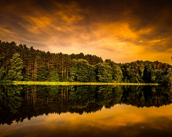 Calm Water Reflections