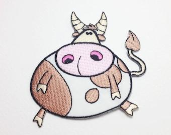 Cow patch Animal applique patch
