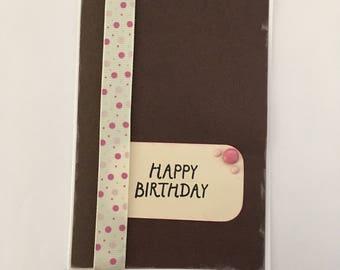 Handmade Card - Happy Birthday (HB45)
