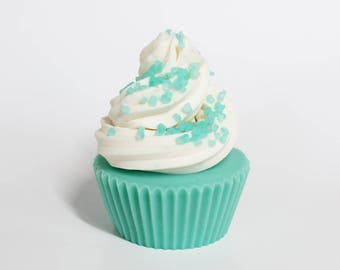 Clean Breeze Cold Process Soap Cupcake