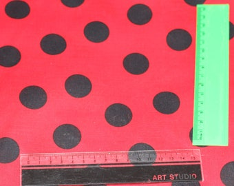 Minnie Mouse spot fabric