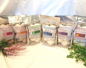 Easter gift, Shower steamer 10 pack, Handmade Natural Aromatherapy, gift for him, treat yourself!