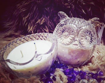 Large Owl Soy Candles