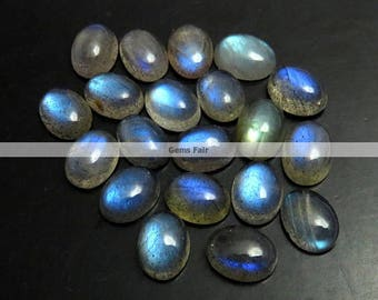 10 pieces 8x6mm labradorite oval cabochon gemstone top quality natural labradorite cabochon oval shape gemstone labradorite cabochon oval
