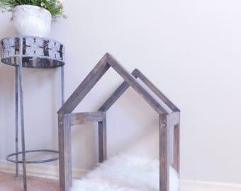 Pet bed - Dog bed - Cat bed - Pet furniture - Modern pet bed - Indoor Dog House - Framed Dog Bed