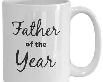 Father Of The Year Coffee Mug