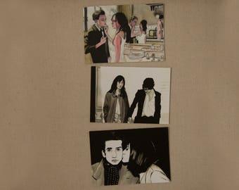 "Postcards PACK ""I love you, me no more"""
