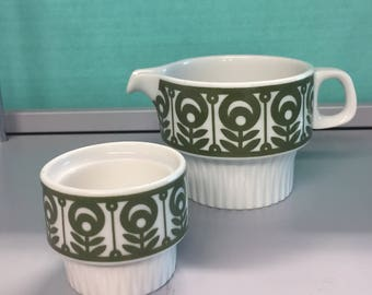 Jug and egg cup - small set thomas (Germany)