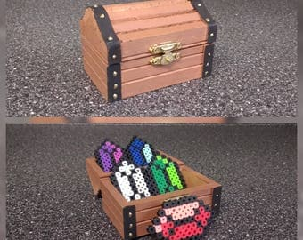 Zelda treasure chest with jewels!