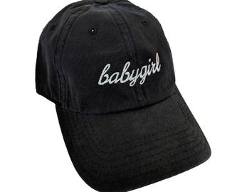 babygirl Embroidered Dad Hat