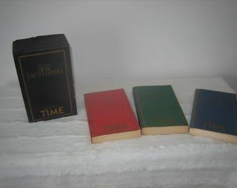 "Vintage Time 'The Concord Desk Encyclopedias"" 1982"