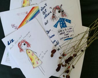 Liz: zine about transgender kid