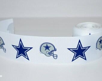 "Dallas Cowboys 1.5"" Grosgrain Ribbon 25U"