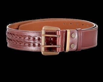 """Belt for trousers, jeans, 50mm (2"""") - 3074"""