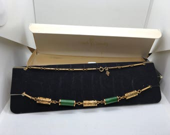 "Vintage Sarah Coventry 1978 ""Oriental Lanterns"" Choker Necklace"