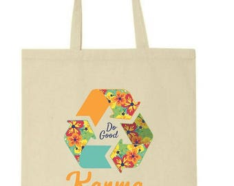 Karma - Do Good - 100% Cotton Canvas Tote Bag