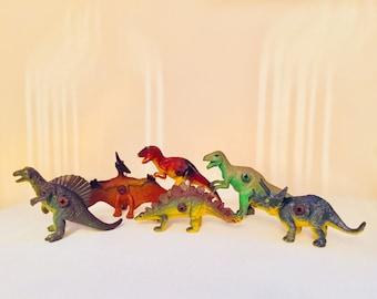 Dinosaur knobs drawer pulls set of 4 or 6
