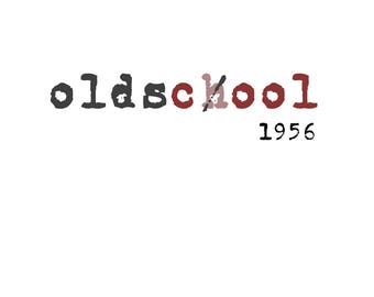 T-SHIRT: Old's Cool - Custom Date/Age - Classic T-Shirt & Ladies Fitted Tee - (LazyCarrot)