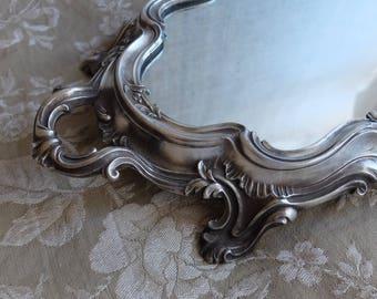 Antique French Louis XV Centerpiece   Mirror Plateau