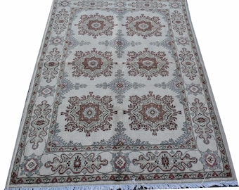 4'7X3'3 ft FREE SHIPPING! Double knotted Chobe  Marinos Afghan high quality very soft handmade rug