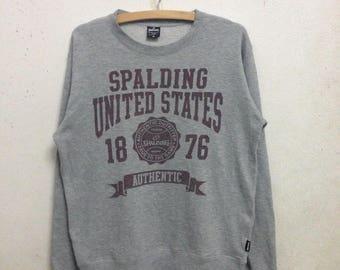 Vintage 90's Spalding Sweatshirts Size M