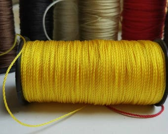 1 m of yellow cord for mala repair