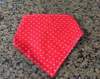 Valentine's Day Dog Bandana