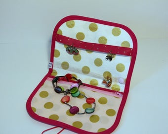 Travel jewelry - gift for her - mothers - Jewelry - Kit travel kit-