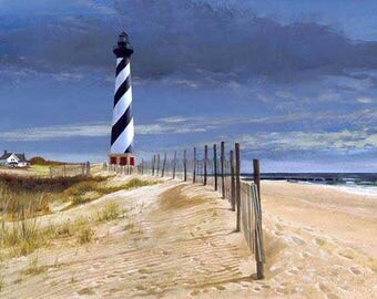 Cape Hatteras Lighthouse Cross Stitch Pattern***LOOK***