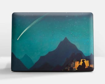 """Laptop skin (Custom size). Nicholas Roerich, """"Star of a Hero"""". Laptop cover, HP, Lenovo, Dell, Sony, Asus, Samsung etc."""