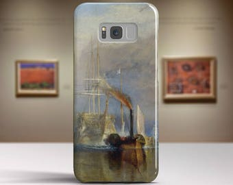 "J.M.W. Turner, ""The Fighting Temeraire..."". Samsung Galaxy S7 Case LG G6 case Huawei P10 Case Galaxy J5 2017 Case and more. Art phone cases."