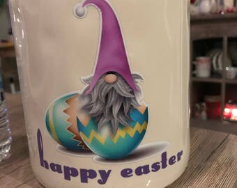 Easter Gnome decal