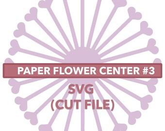 Flower Center #3 SVG File