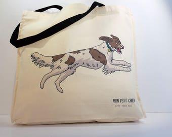 Springer Spaniel shopping bag - Tote bag for Dog lovers