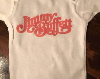 Jimmy Buffet Onesie or T shirt